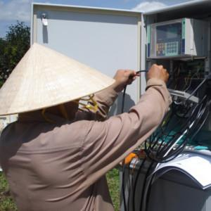 CAE AT WORK IN VIETNAM: ON GOING THE REALIZATION OF A MONITORING NETWORK FOR THE CENTRAL PROVINCES