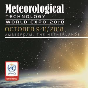 Appuntamento ad Amsterdam dal 9 all'11 ottobre: CAE al Meteorological Technology World Expo