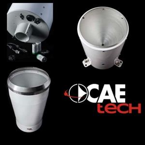 CAEtech rain gauges: maximum accuracy up to 800 mm/h intensity