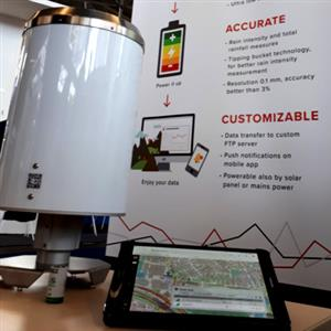 Amsterdam: CAE has presented its PG4i, the new stand alone rain gauge