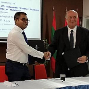 Maldives: green light to the expansion of the national meteorological monitoring network with 25 new stations and control centers
