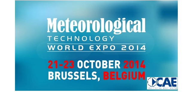 CAE participa al Meteorological Technology World Expo en Bruselas, Bélgica
