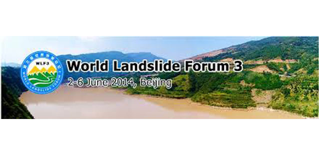 CAE exhibits at the World Landslide Forum in Beijing