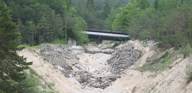 CAE MONITORING AND EARLY SYSTEM TO MITIGATE THE EFFECTS OF DEBRIS FLOW AT BORCA DI CADORE, VENETO REGION