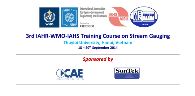 "CAE è sponsor del ""Training Course on Stream Gauging"" della Thuyloi University, in Vietnam."